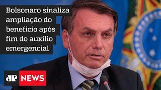 Novo Bolsa Família será de no mínimo R$ 300, afirma Bolsonaro