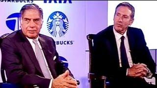 Good Business Brew: Ratan Tata, Howard Schultz on Starbucks JV