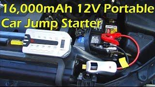16,000mAh 12V Portable Car Jump Starter - 1byOne