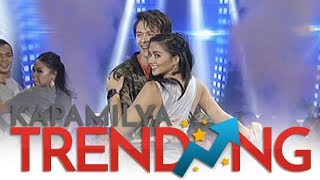 Enrique Gil dances Swalla