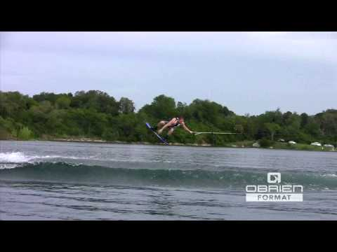 2013 Obrien Format Wakeboard Review With Josh Sanders