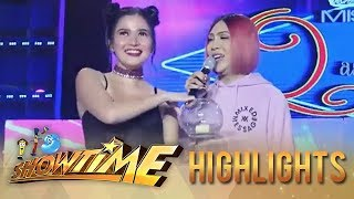 "Bela Padilla takes the place of ""Ate Girl"" during Miss Q & A.  Subscribe to ABS-CBN Entertainment channel! -   http://bit.ly/ABS-CBNEntertainment  Watch the full episodes of It's Showtime on TFC.TV   http://bit.ly/ItsShowtime-TFCTV and on IWANT.TV for Philippine viewers, click:  http://bit.ly/SHOWTIME-IWANTv  Visit our official website!  http://entertainment.abs-cbn.com/tv/shows/itsshowtime/main http://www.push.com.ph  Facebook: http://www.facebook.com/ABSCBNnetwork  Twitter:  https://twitter.com/ABSCBN https://twitter.com/abscbndotcom Instagram: http://instagram.com/abscbnonline"
