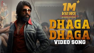 Dhaga Dhaga Video Song - Gani | Sanju | Shameek VB | Happy Birthday Yash | Tribute to KGF 2