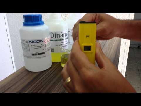 Calibração Medidor de ph portatil