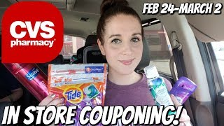CVS IN STORE COUPONING 2/24/19-3/2/19 FREEBIES GALORE!