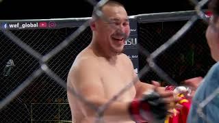 Кыргызский тяж нокаутировал за 43 секунды / Жыргал Чомонов vs Нодирбек Расулов WEF 13