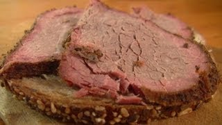 preview picture of video 'Beef Pastrami in my Smoker video recipe littlegasthaus'