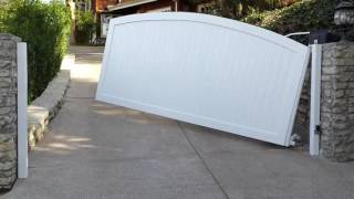 Perfect Hillside Gate | Los Angeles | Mulholland Security 1.800.562.5770