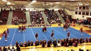 MYF Cheer Competition Men Falls 2015