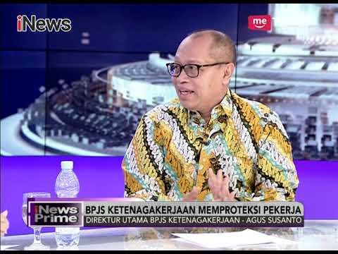 BPJS Ketenagakerjaan Memproteksi Para Pekerja dari Kecelakaan Kerja - iNews Prime 03/11