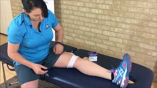 Taping to Reduce Knee Pain