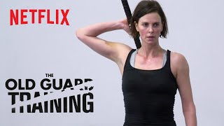 The Old Guard   Combat Training   Netflix