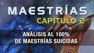 Maestrías Capitulo 2 - Análisis al 100% de Maestrías Suicidas | Marvel Batalla de Superheroes