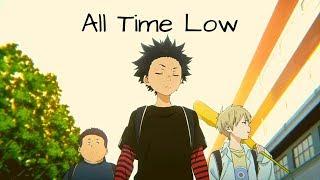 Koe No Katachi [AMV]   All Time Low