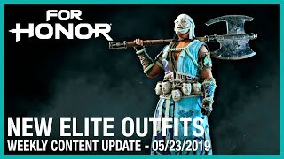 For Honor: New Elite Outfits | Week 05/23/2019 | Weekly Content Update | Ubisoft [NA]