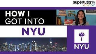 How I Got Into NYU: New York University, College Admission Tips!!
