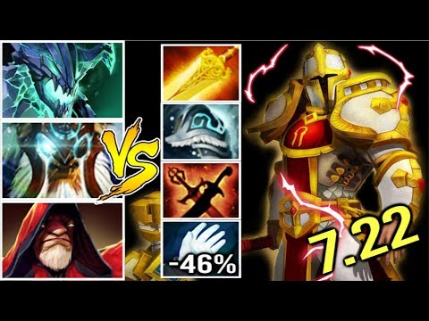 WTF Grace 66% Status Resistance Pro Omniknight Carry vs Magic Crazy Game by Ghostik 7.22 Dota 2