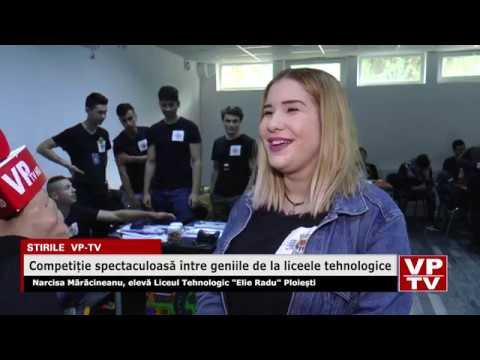 Competiție spectaculoasă între geniile de la liceele tehnologice