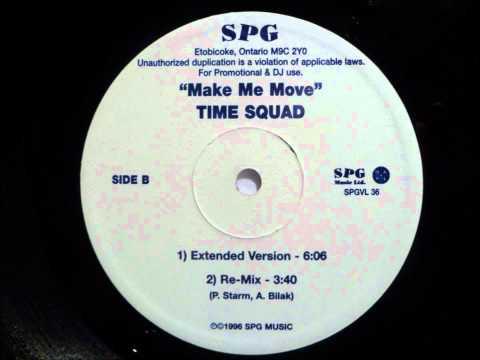 Time Squad - Make Me Move