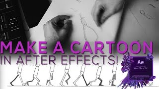 Hand Drawn Cartoon Animation In After Effects!