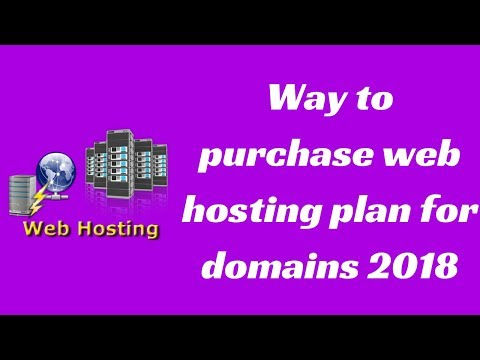 How to purchase best web hosting plan for domain 2018