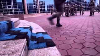 Зажигательное поздравление Жасулановцев с 8 марта! Зажигательный танец молодых гвардейцев в Астане