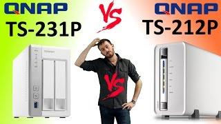 Qnap TS-231P Desktop NAS 4TB 2-Bay RAID (1GB RAM) (2 X 2TB