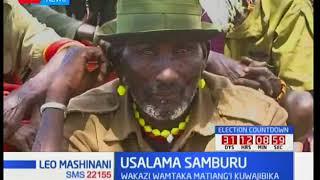 Samburu residents demand for more security in the region