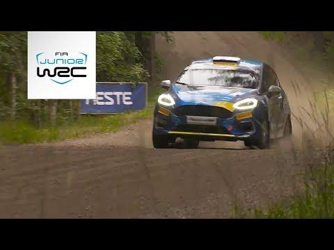 Junior WRC - Neste Rally Finland 2019: Saturday Highlights