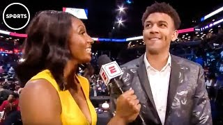 NBA Rookie STUNS Viewers When Asked About His Mom