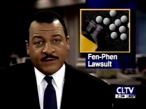 Fen-Phen Diet Drugs Litigation - CLTV News - September 23, 1997 Video Image