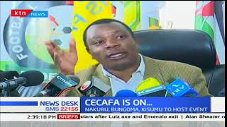CECAFA tournament from 25th November to 9th December