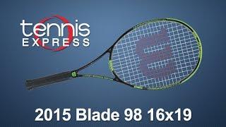 Ρακέτα τέννις Wilson Blade 98 16x19 video