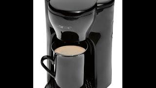 Кофеварка Clatronic KA 3356, Black