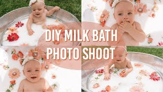 DIY MILK BATH PHOTO SHOOT | TIPS & TRICKS