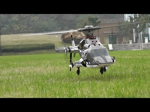 Flight Review – RC Airwolf with 5 blades main rotor head