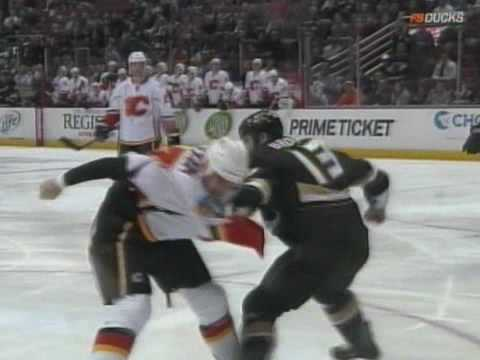 Mike Brown vs. Eric Nystrom