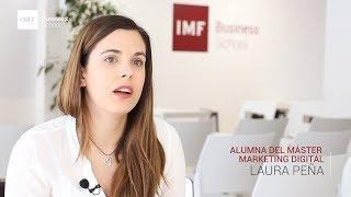 Opinión Alumna Master Semipresencial Marketing Digital: Laura Peña