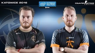 CS:GO - NiP vs. Fnatic [Inferno] - IEM Katowice 2016 - Group A