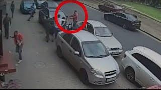 RAW: Ukraine journalists brutally assaulted with shotgun & fists in Odessa