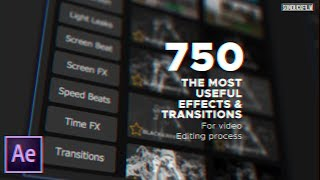 750 Video Effects For After Effects | Montage Library Review