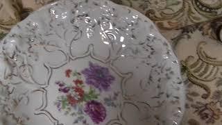 Дулево 2 редкие тарелки виноградная лоза в супер состоянии на продажу