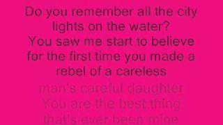 taylor swift- mine lyrics