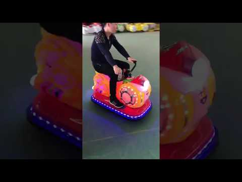 Bumper Bike Amusement Game