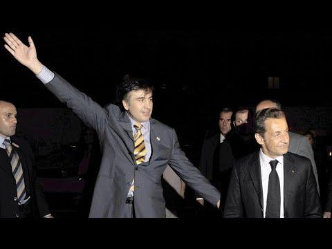 EuroNews. live. Грузия. Тбилиси. 2008.08.13 01.14