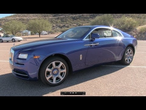 2014 Rolls-Royce Wraith Start Up, Exhaust, Test Drive, and In Depth Review