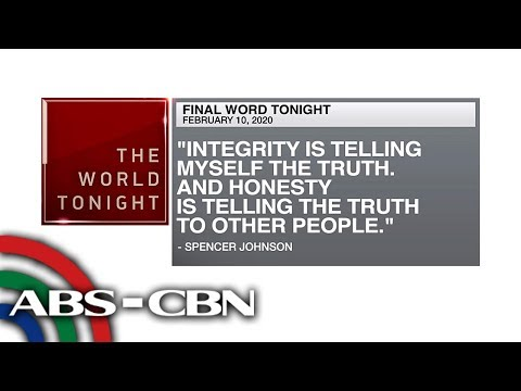 [ABS-CBN]  Final Word – February 10, 2020 | ANC