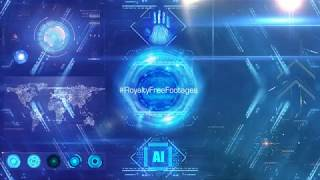 Technology Background Video Animation | Technology motion graphics | artificial intelligence videos