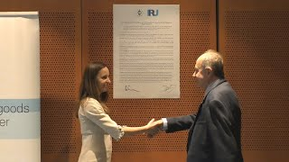 IRU - ETF : Celebration EU Social Dialogue Committee