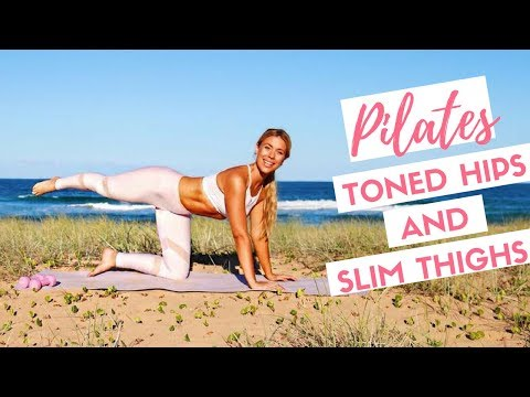 Outer Thighs Glutes and Hips | Advanced Mat Pilates Workout 💕